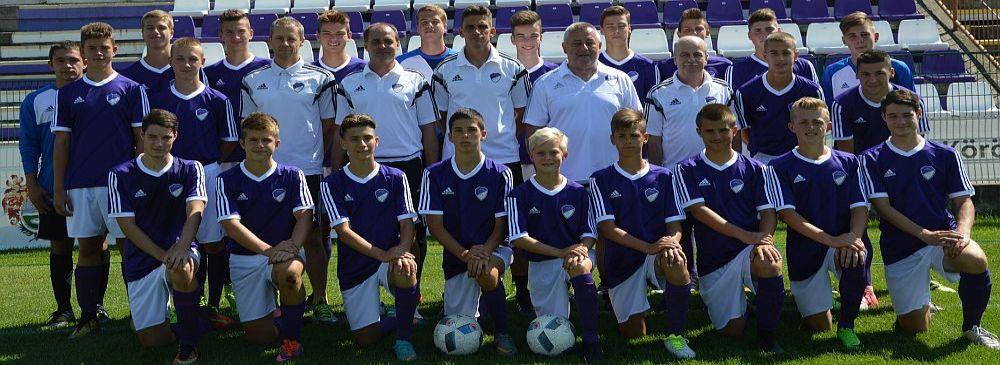 2017/2018 szezon U16 csapat