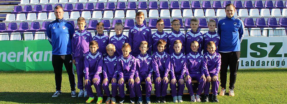 2017/2018 szezon U12 csapat