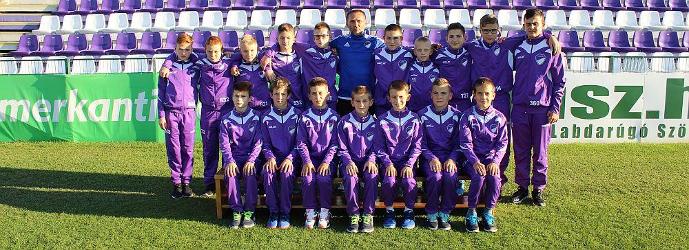 2017/2018 szezon U13 csapat