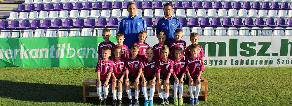 2017/2018 szezon U8 csapat