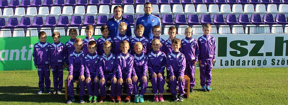 2017/2018 szezon U9 csapat